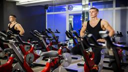 تجهیزات بدنسازی man spinning bicycle gym 256g